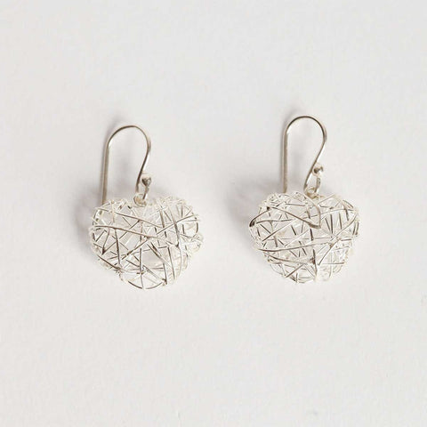 Sunqu Silver Hoop Earrings