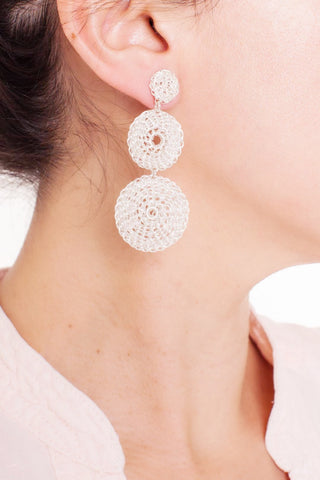 Inti Silver Earrings