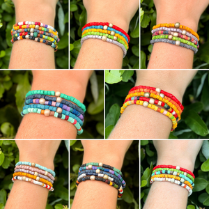 Solidarity Bracelets (5-pack, choose color)
