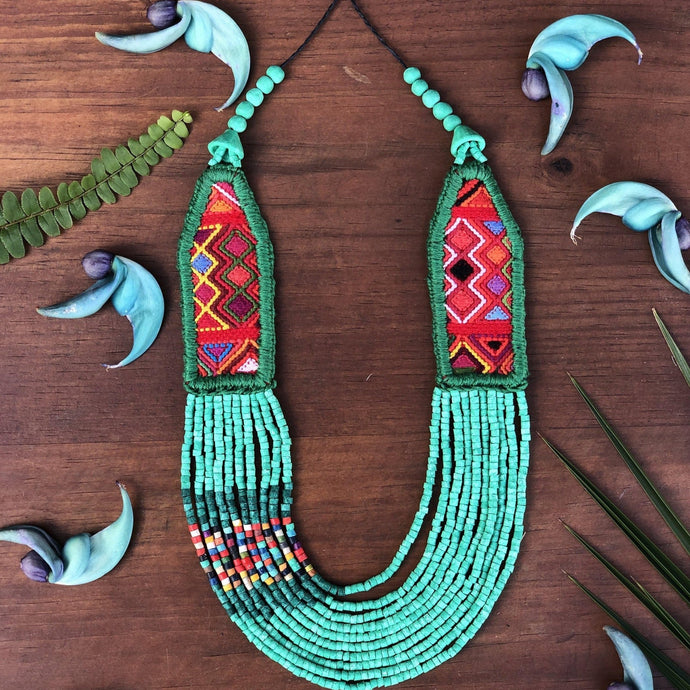 Aguacatán - Turquoise Ceremonial