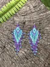 Load image into Gallery viewer, Atitlan Diamond - Lila/turquoise