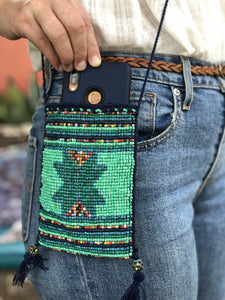 Colores Cell Phone Bags - Turquoise