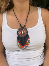 Load image into Gallery viewer, Kinich Ahau Pendant - Black Eclipse
