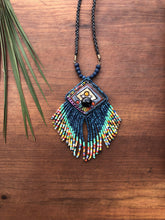Load image into Gallery viewer, Kinich Ahau Pendant - Dark Side of the Moon