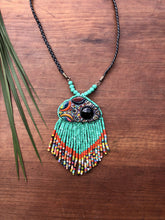 Load image into Gallery viewer, Kinich Ahau Pendant - Turquoise Galaxy