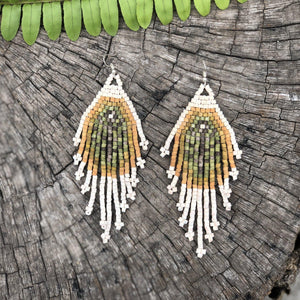 Tikal Fossils Earrings