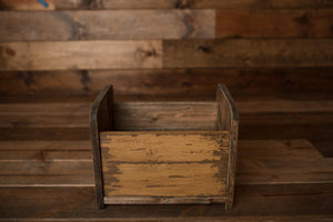 "Vintage Box Bed - ""The Lulu"""
