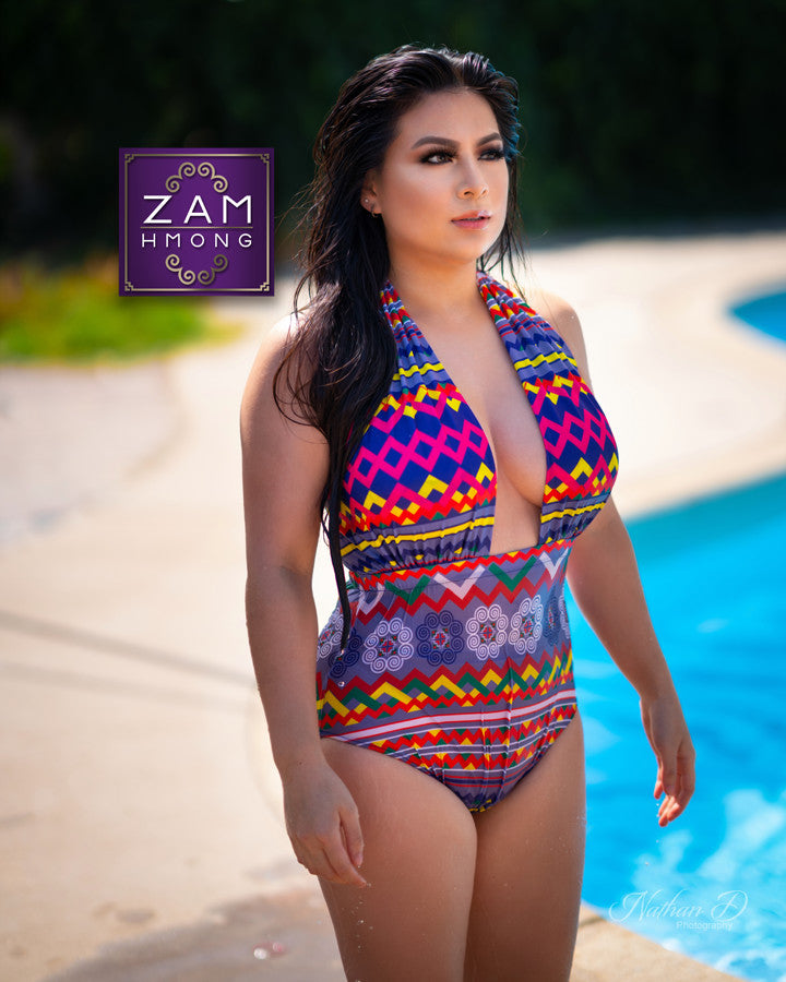 Zamhmong Swim Suit