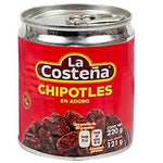 LA COSTEÑA CHIPOTLES 220 GRAMOS