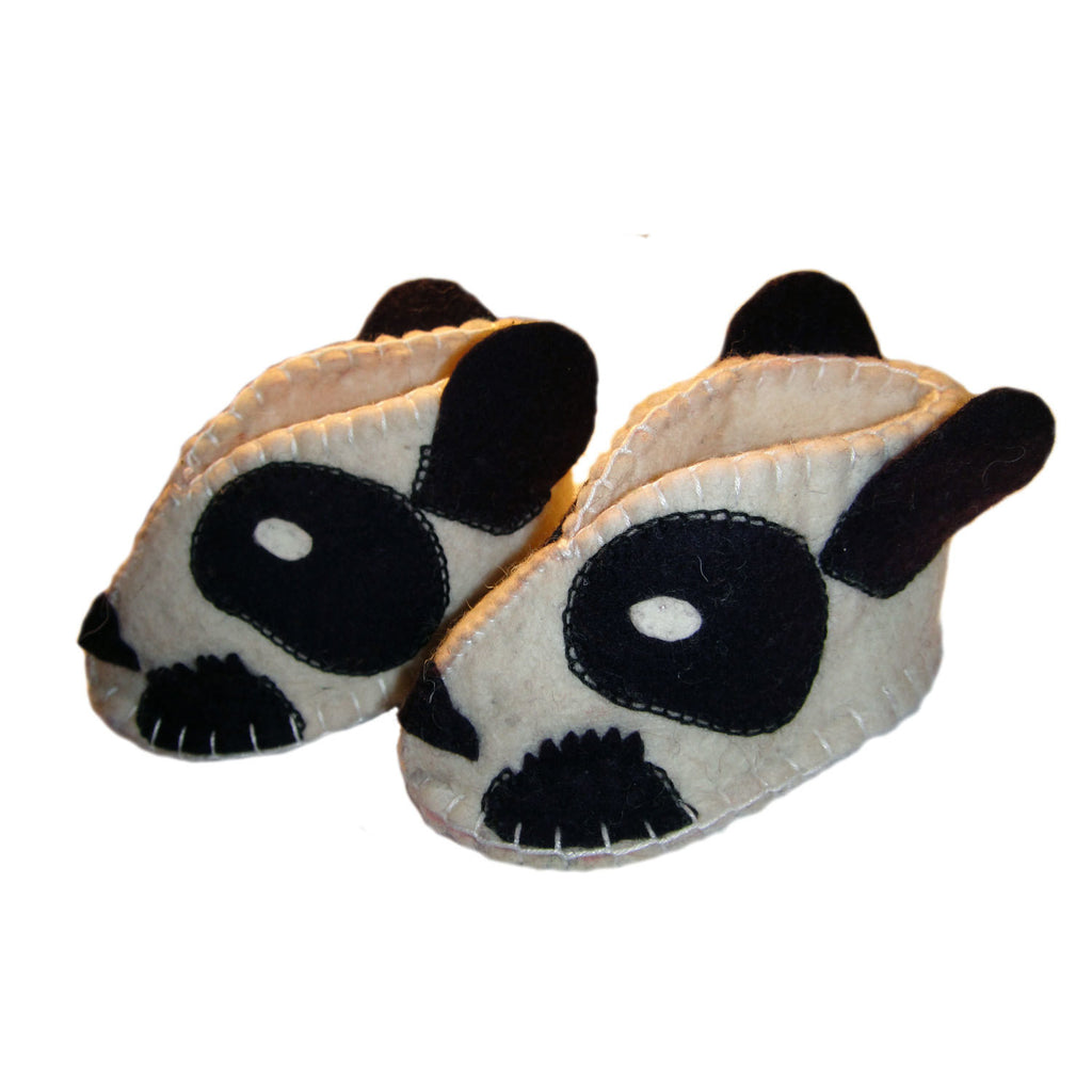 Panda Zooties Baby Booties - Silk Road Bazaar - Sunstone Holistic Health and Healing
