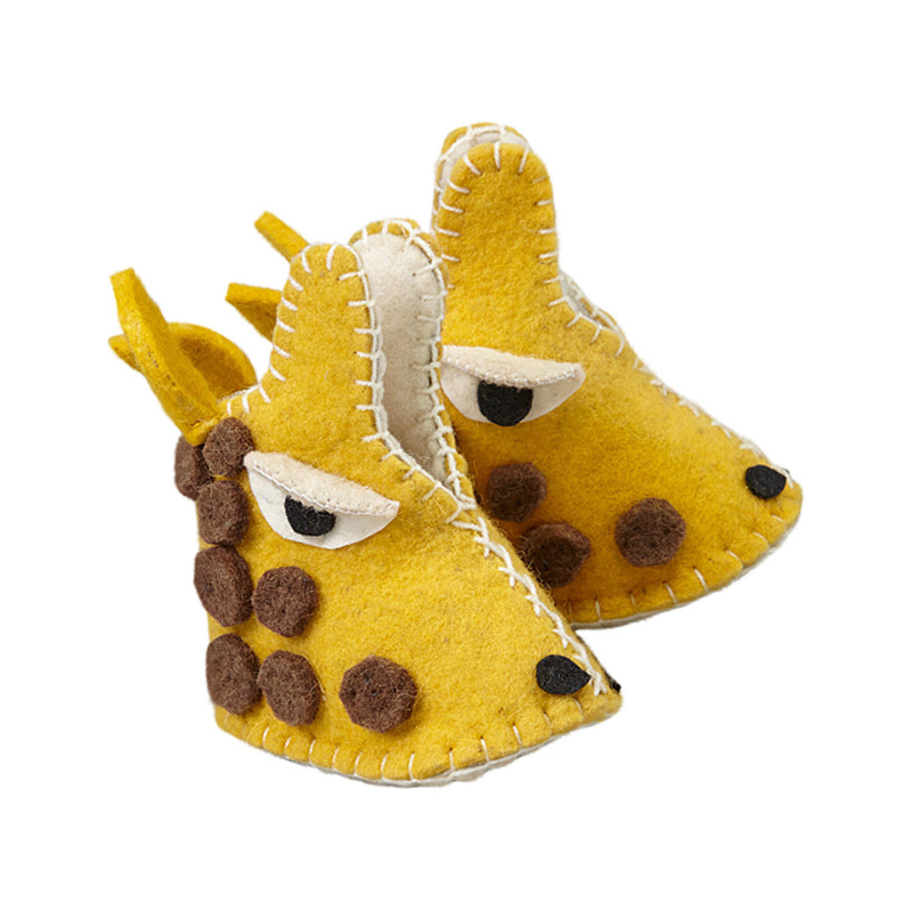 Giraffe Zooties Baby Booties - Silk Road Bazaar - Sunstone Holistic Health and Healing