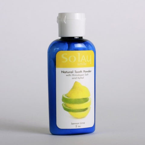 Lemon-Lime Natural Tooth Powder