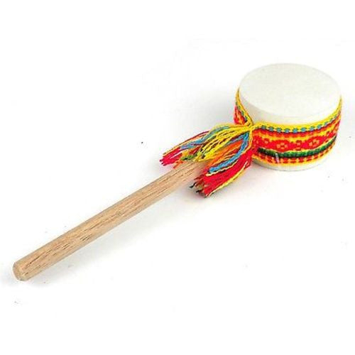 Shaker Drum with Fabric - Jamtown World Instruments - Sunstone Holistic Health and Healing
