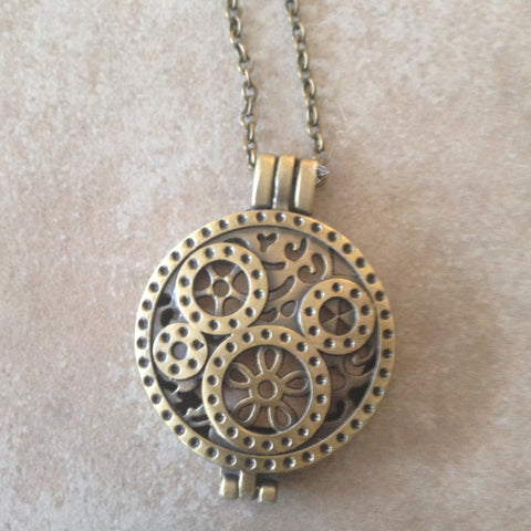 Circles Diffuser Necklace