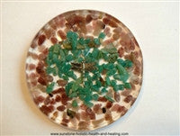 Green/Brown Dragonfly Coaster - Sunstone Holistic Health and Healing