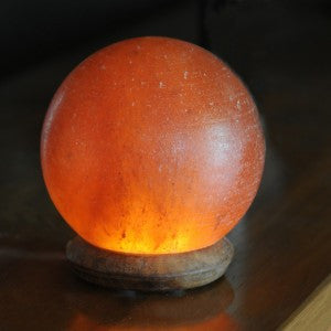 Globe USB Salt Lamp Light
