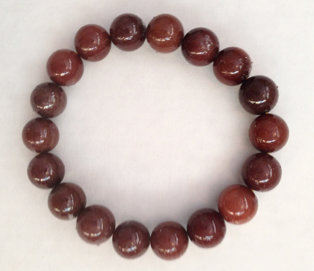 Energy Bracelet - Brown Beads - Sunstone Holistic Health and Healing