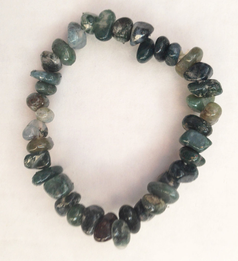 Stress Bracelet - Dark-Green - Sunstone Holistic Health and Healing