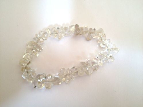 Forever Young Bracelet - Clear - Sunstone Holistic Health and Healing