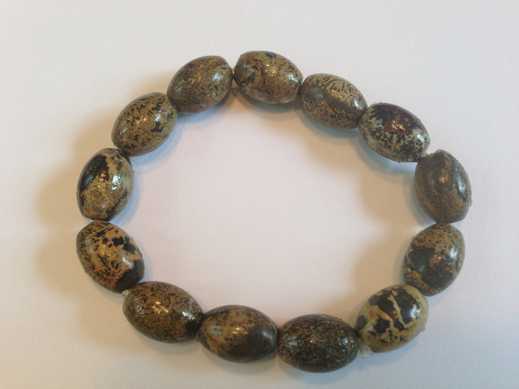 Health & Wellness Bracelet -  Brown Beads - Sunstone Holistic Health and Healing
