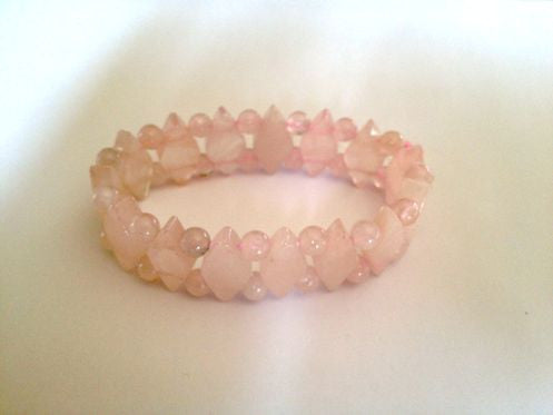 Forever Young Bracelet - Pink - Sunstone Holistic Health and Healing