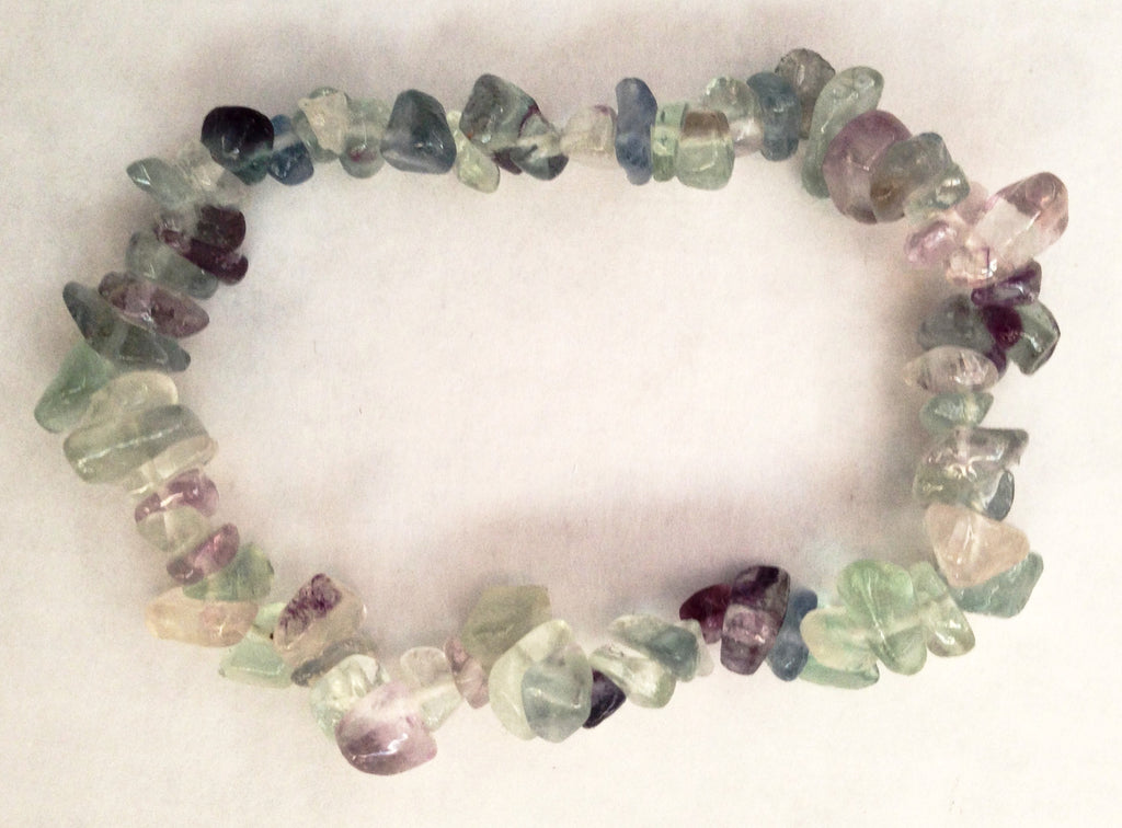 Protection Bracelet - Light blue/green - Sunstone Holistic Health and Healing