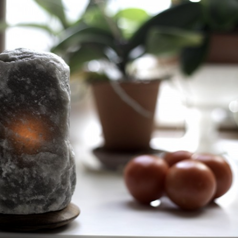Grey Himalayan Salt Lamp