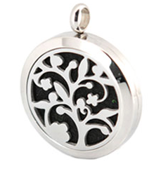 Diffuser Necklace - Tree of Life With Chain