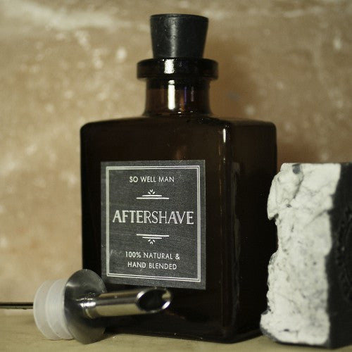 All Natural Men's Aftershave - Sunstone Holistic Health and Healing