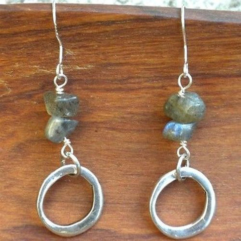 Peaceful Labradorite Earrings - Starfish Project