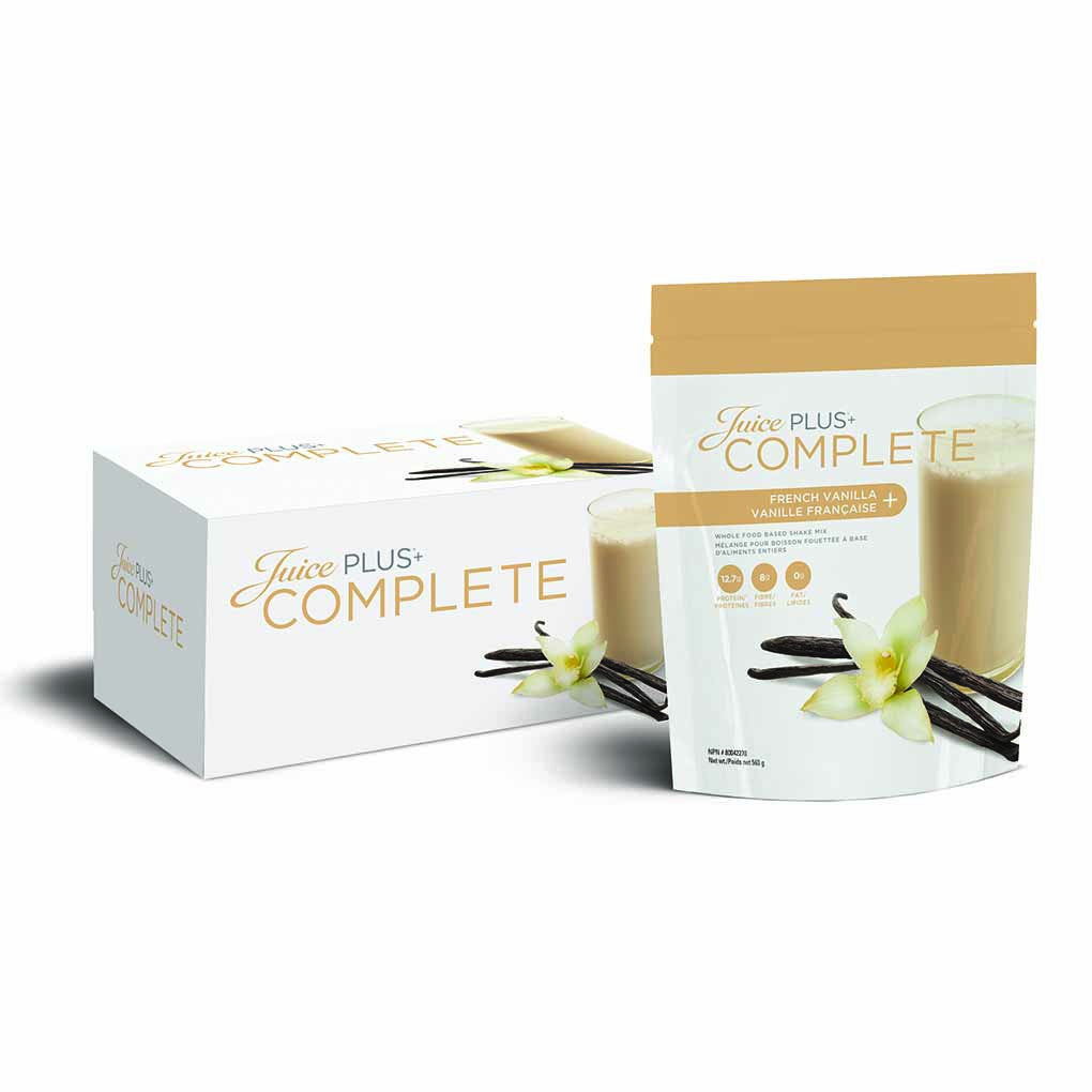 Juice Plus Complete Shake - French Vanilla - Sunstone Holistic Health and Healing