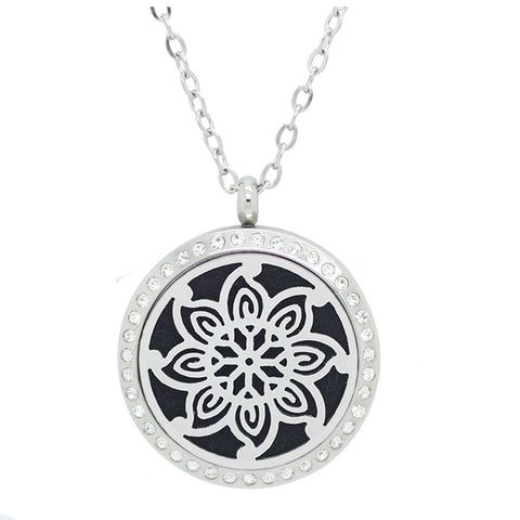 Necklace Diffuser | Flower Design