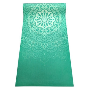 MandalaYoga Mat - Green - Sunstone Holistic Health and Healing