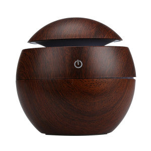 Wood Grain Ultrasonic Essential Oil Diffuser - Sunstone Holistic Health and Healing