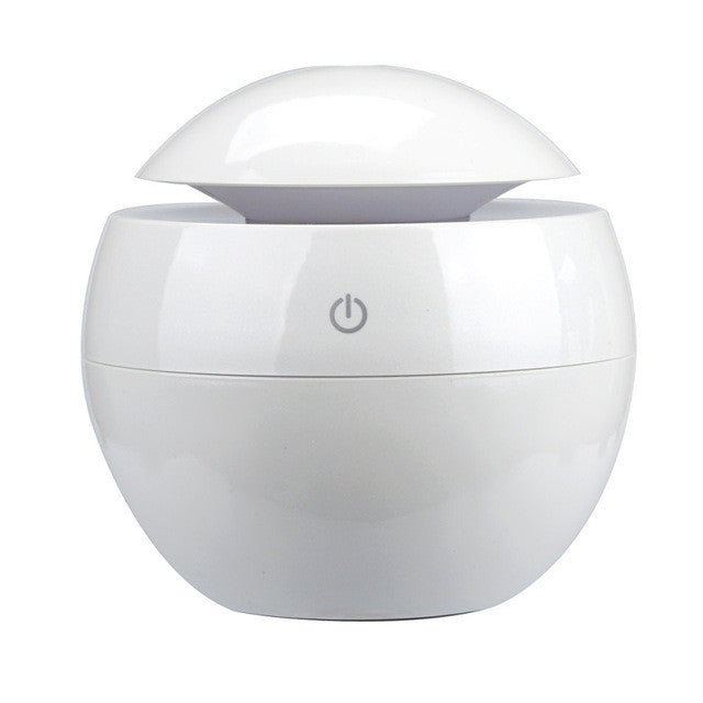 White Aromatherapy Ultrasonic Essential Oil Diffuser - Sunstone Holistic Health and Healing