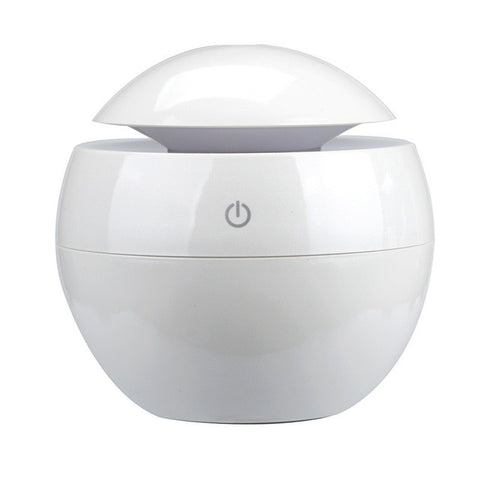 White Aromatherapy Ultrasonic Essential Oil Diffuser