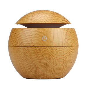 Ligth Wood Grain Aromatherapy Essential Oil Diffuser - Sunstone Holistic Health and Healing