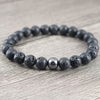 Hematite & Lava Stone Beads | Men's - Sunstone Holistic Health and Healing