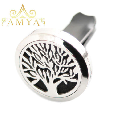 Car Aroma Essential Oil Diffuser - Tree of Life
