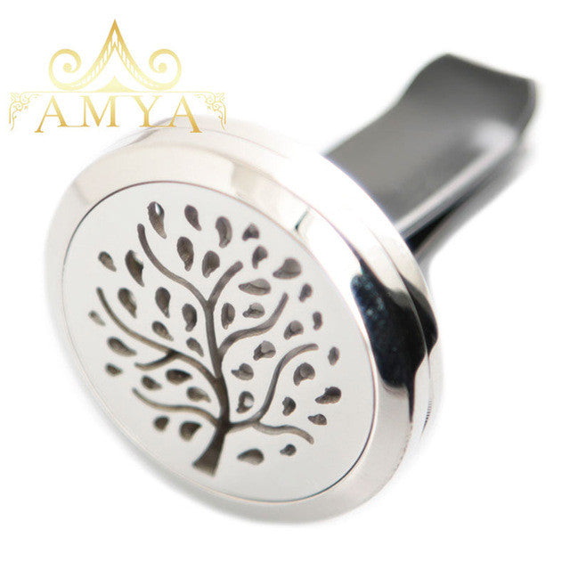 Car Aroma Essential Oil Diffuser - Tree 3 - Sunstone Holistic Health and Healing