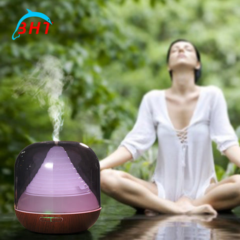 Ultrasonic Air Filter Purifier Led Essential Oil Diffuser
