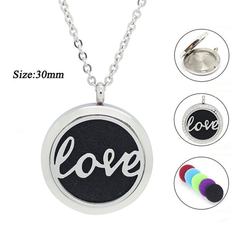 LOVE Diffuser Necklace