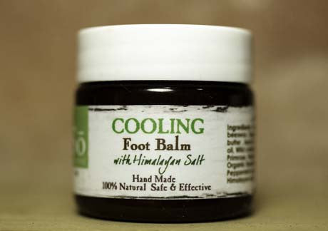 Essential Cooling Foot Balm with Himalayan salt for Hands & Feet