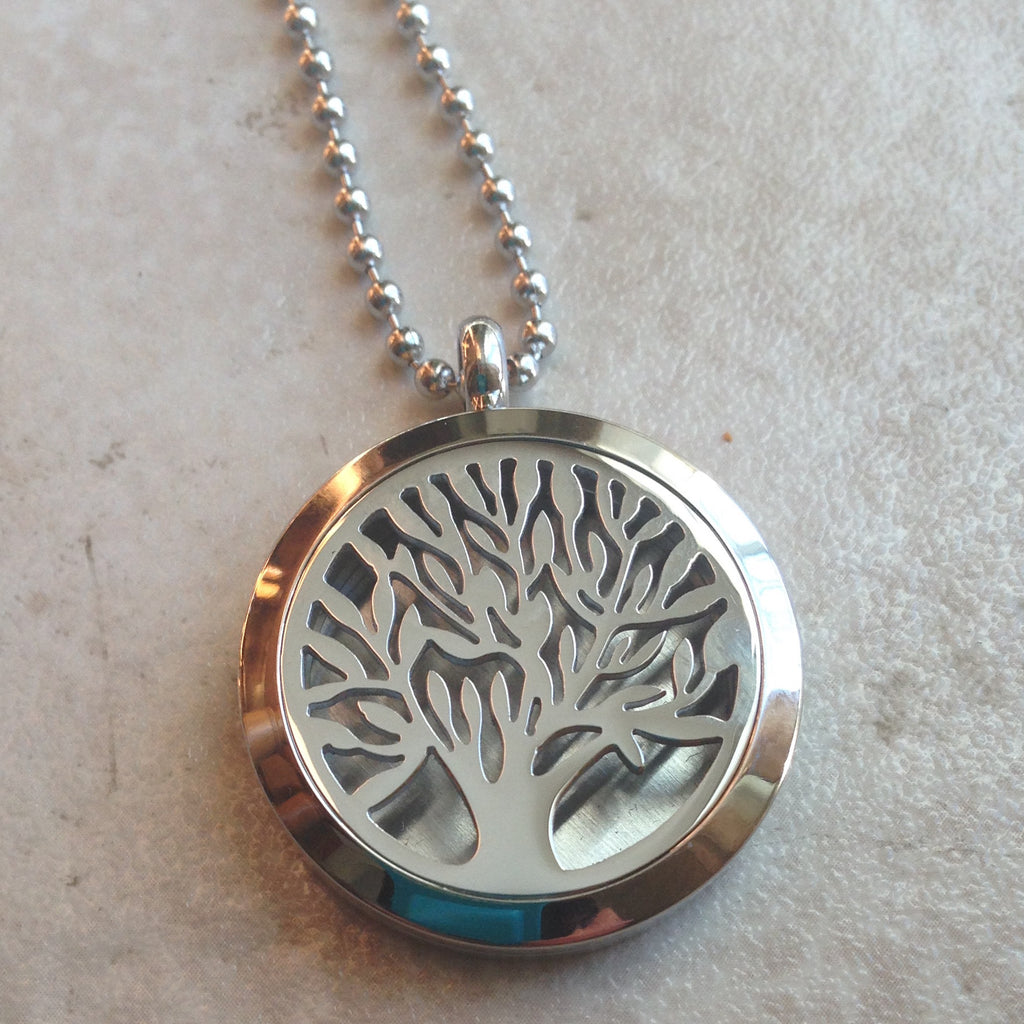 Tree of Life Pendant Diffuser - Large - Sunstone Holistic Health and Healing