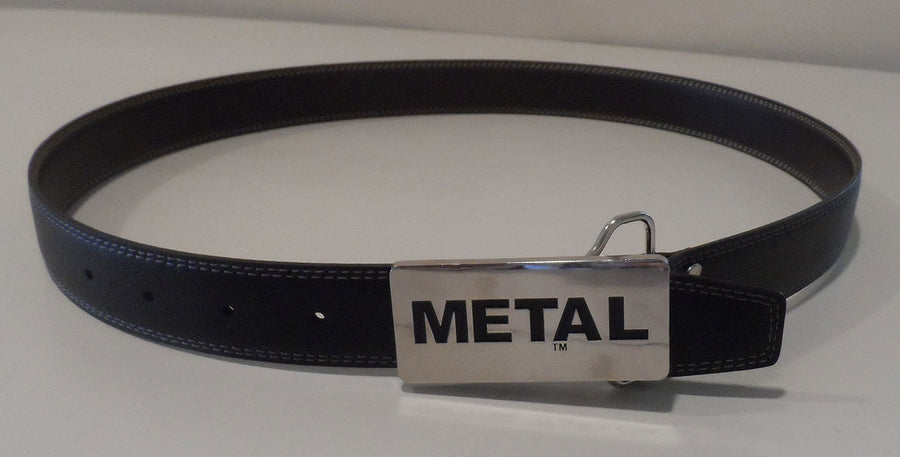 METAL  Leather Belt