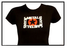 Girls METAL Star Logo Baby