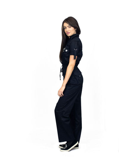 Little Wing Black Jumpsuit