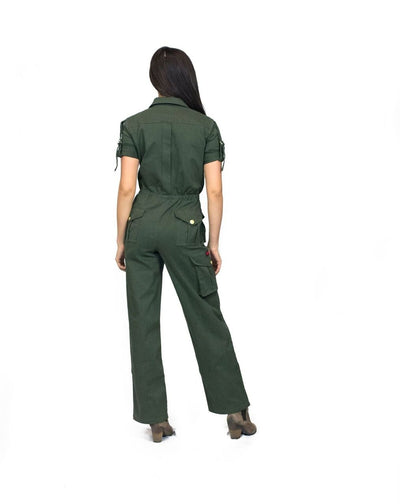 Little Wing Olive Jumpsuit