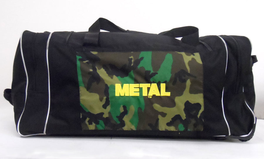 METAL duffel/luggage bag
