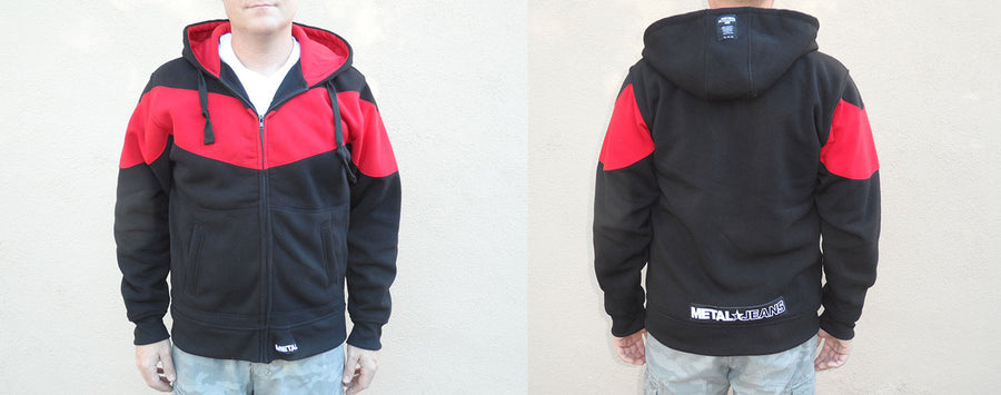 METAL Zippered Hoodies